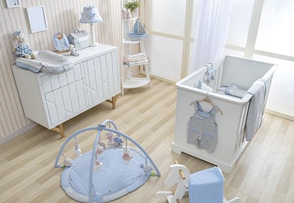 parquet en habitacion bebe